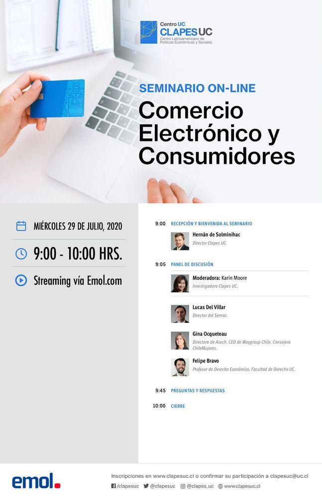 Seminario Clapes UC: Comercio Electrónico y Consumidores